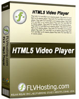 Free HTML5 Player by FLV Hosting