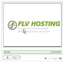 flv hosting progressive flv player