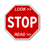 Stop Look Read Save Time