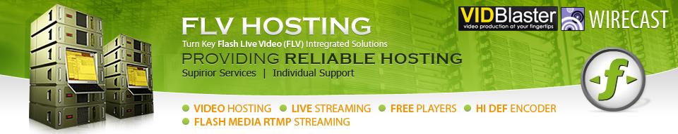 Order FLV Hosting